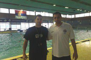Già secondo di Vujasinovic (insieme nella foto), Milenkovic è stato c.t. della Serbia U18 ai Mondiali di Podgorica