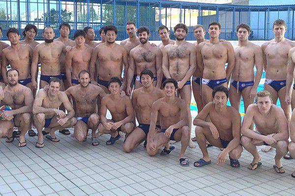 Prima delle Olimpiadi, il Giappone s'è allenato anche in Italia, a Brescia e Trieste (nella foto)