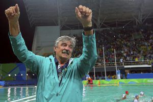 Rudic at Rio 2016 Olympics after historical win of Brazil against Serbia