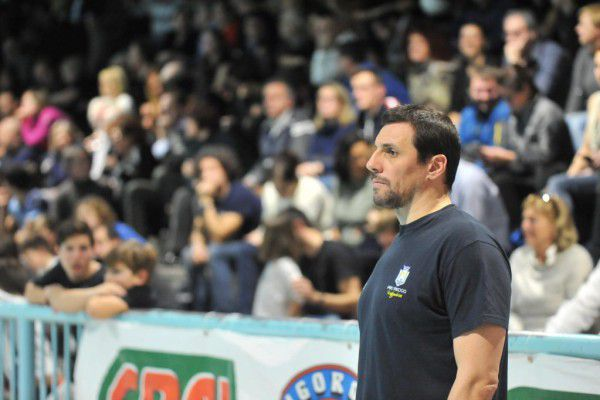 Vlado Vujasinovic, al primo anno sulla panchina della Pro Recco
